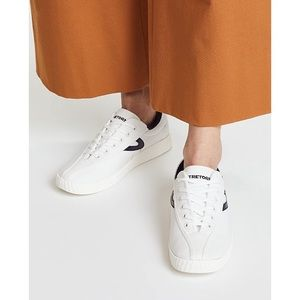 Tretorn NYlite plus sneakers in white/night